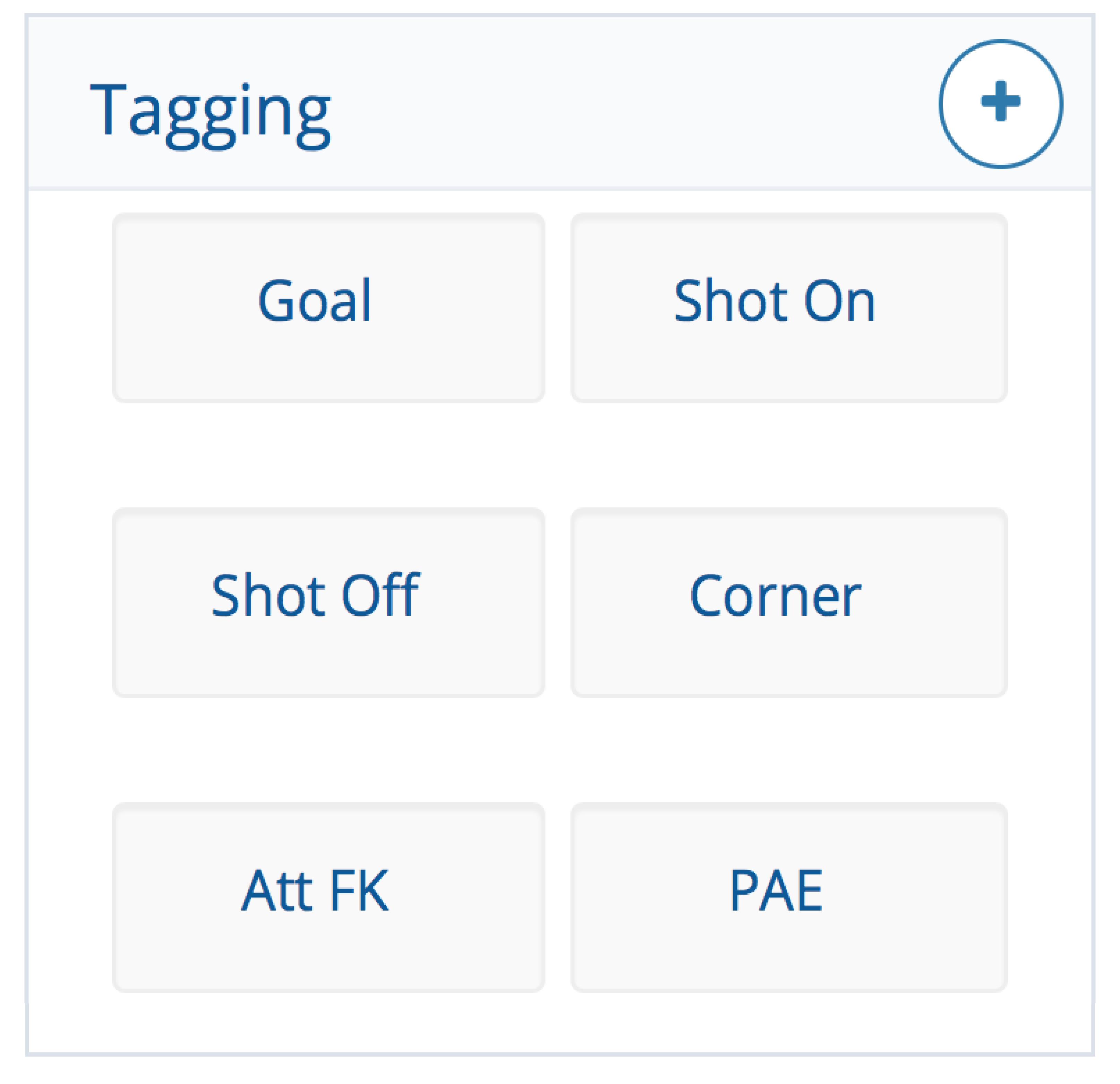Futsal Tagging Panel